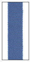 Blue Petersham Grosgrain Ribbon 15mm