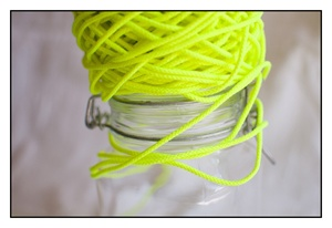 Fluorescent Yellow Spindle Cord 3mm