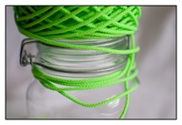 Fluorescent Green 3mm Spindle Cord