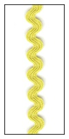 Imperial Gold 8mm Ric-Rac