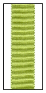 Verde Grosgrain Ribbon 15mm