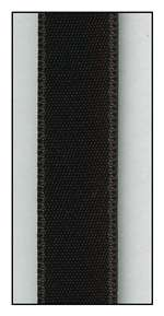 Black Double Faced Satin Ribbon 9mm