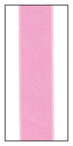 Blush Double Faced Satin Ribbon 15mm