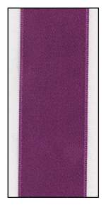 Viola Double Faced Satin Ribbon 25mm