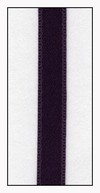 Meadow Violet Double Faced Satin Ribbon 6mm