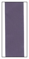 Purple Royalty Double Faced French Satin Ribbon 50mm