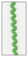 Grass Green 6mm Ric-Rac-Rac