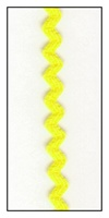 Bright Yellow 6mm Ric-Rac-Rac
