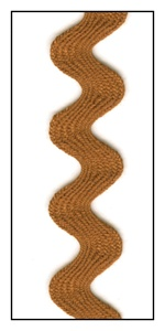 Chestnut 16mm Ric-Rac-Rac
