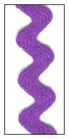 Purple 16mm Ric-Rac-Rac