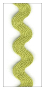 Light Olive 16mm Ric-Rac-Rac