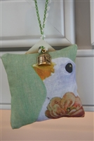 "The Flock ""B"" - Tiny Hanging Sachet"